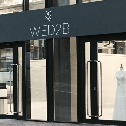Wed2B opens new bridal store in Birmingham!